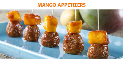 appetizer Mango use